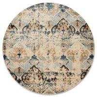 Magnolia Home By Joanna Gaines Kivi 5-Foot 3-Inch Round Area Rug in Sand/Ocean