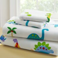 Olive Kids™ Dinosaur Land 4-Piece Full Sheet Set