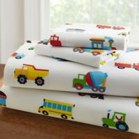 Olive Kids™ Trains, Planes, Trucks 3-Piece Twin Sheet Set