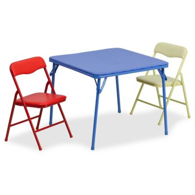 Ordinaire Flash Furniture Kids Colorful 3 Piece Folding Table And Chair Set