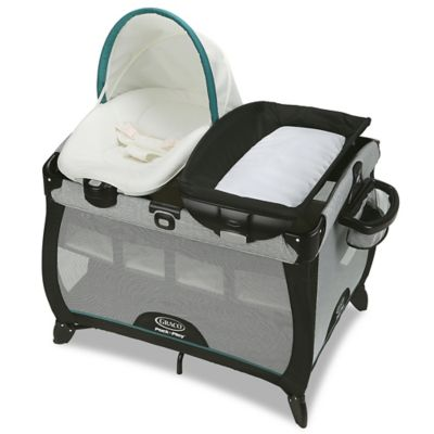 graco bedroom bassinet. playards \u003e graco® pack \u0027n play playard quick connect portable napper with bassinet in graco bedroom