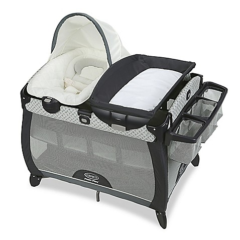 Graco Pack 39 N Play Quick Connect Portable Napper Deluxe