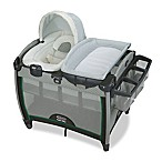 Graco Pack 'n Play Quick Connect Portable Bouncer with Bassinet in Albie