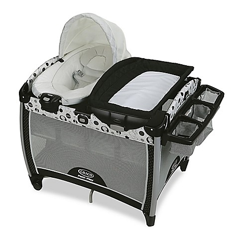 Graco Pack N Play Quick Connect Portable Bouncer With Bassinet In