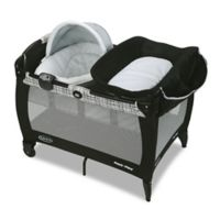 Graco® Pack 'n Play® Newborn Napper and Bassinet with Soothe Surround™ in Black