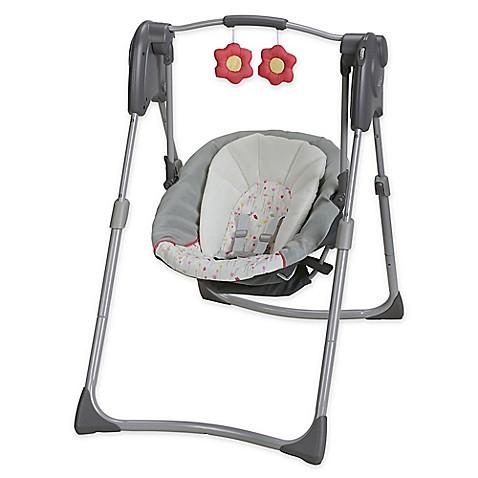 Graco 174 Slim Spaces Compact Swing In Alma Buybuy Baby