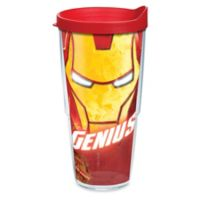 "Tervis® Marvel® Iron Man ""Genius"" 24 oz. Wrap Tumbler with Lid"