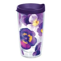 Tervis® Watercolor Pansy 16 oz. Wrap Tumbler with Lid