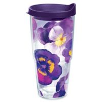 Tervis® Watercolor Pansy 24 oz. Wrap Tumbler with Lid