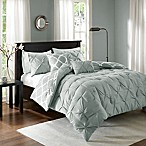 Madison Park Essentials Kasey 5-Piece Reversible King/California King Comforter Set in Grey
