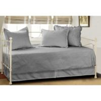 Vashon Daybed Quilt Set in Grey