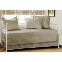 Vashon Daybed Quilt Set in Taupe