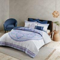 Urban Habitat Coletta 7 Piece King California Comforter Set In Purple