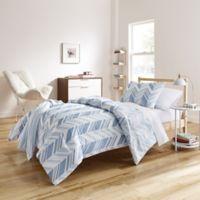 Elesa 7-Piece Twin/ Twin XL Comforter Set in Blue