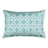 Geo Prep Tile Standard Pillow Sham in Blue