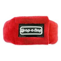Wrap-a-Nap Travel Pillow in Red