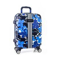 Tommy Hilfiger® Blue Floral Hardside 28-Inch Spinner Suitcase