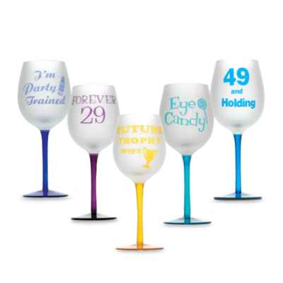 Singles 16-Ounce Wine Glasses