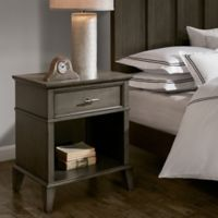 Madison Park Signature Yardley Nightstand in Reclaimed Grey