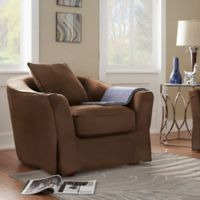 Verona Home Bernal Heights Arm Chair in Brown