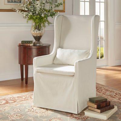 Verona Home Auburn Hills Hostess Chair In Off White
