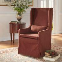 Verona Home Auburn Hills Hostess Chair in Brown