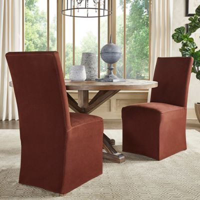 Verona Home Auburn Hills Parsons Chairs In Brown (Set Of 2)