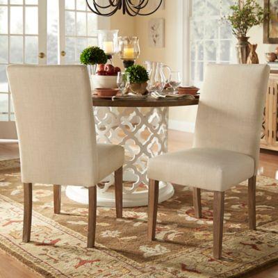verona home auburn hills parsons chairs in beige set of 2