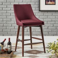 Verona Home Hudson Counter Stools in Port (Set of 2)