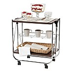 IRIS® Foldable Serving Cart in Brown