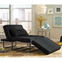 Lifestyle Solutions™ Relax-A-Lounger™ Barlow Otto-Kube Convertible Chair in Charcoal