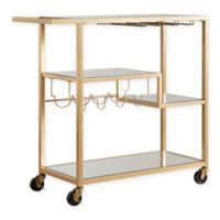 Verona Home Georgina Bar Cart in Gold