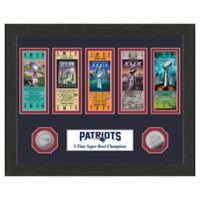 NFL New England Patriots Super Bowl Champs Ticket Collection
