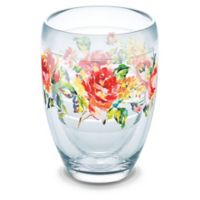 Tervis® Fiesta Rose Pattern 9 oz. Stemless Wine Glass