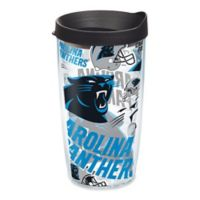 Tervis® NFL Carolina Panthers 16 oz. Allover Wrap Tumbler with Lid