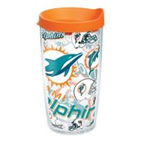 Tervis® NFL Miami Dolphins 16 oz. Allover Wrap Tumbler with Lid