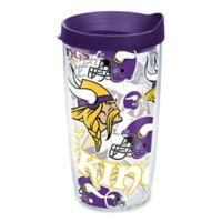Tervis® NFL Minnesota Vikings 16 oz. Allover Wrap Tumbler with Lid