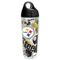 Tervis® NFL Pittsburgh Steelers 24 oz. Allover Wrap Water Bottle with Lid