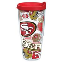 Tervis® NFL San Francisco 49ers 24 oz. Allover Wrap Tumbler with Lid