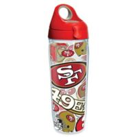 Tervis® NFL San Francisco 49ers 24 oz. Allover Wrap Water Bottle with Lid