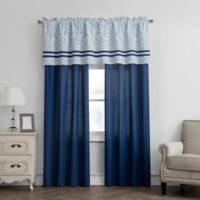Verona Window Valance in Navy