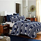 Bombay King Quilt Set in Navy