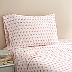 Coastal Life Flamingo 300-Thread-Count Queen Sheet Set in Pink
