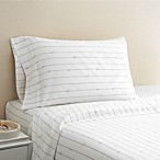 Coastal Life Rope 300-Thread-Count Queen Sheet Set in Taupe