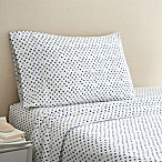 Coastal Life Dot 300-Thread-Count Standard Pillowcase Pair in Blue/White