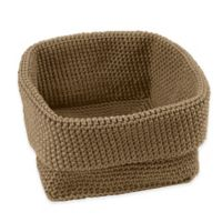Home Essentials® Foldable Small Storage Basket in Taupe