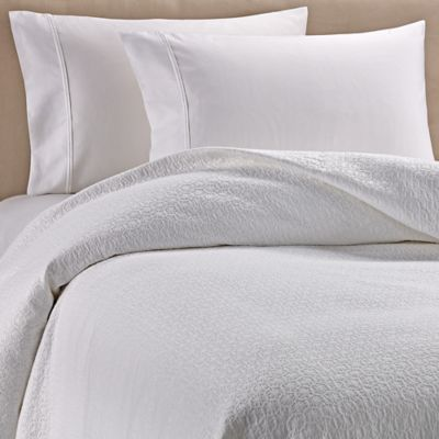 Good Barbara Barry Crystalize King Matelassé Coverlet In White