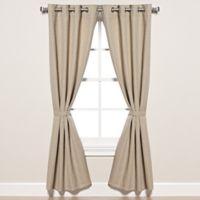 Pawleys Island® Sunbrella® Dupione 120-Inch Grommet Top Outdoor Curtain Panel in Sand