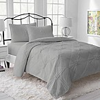 Lemon Tree Riley Jersey Reversible King Quilt in Grey