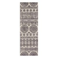 Magnolia Home by Joanna Gaines Lotus 2-Foot 6-Inch x 7-Foot 6-Inch Runner in Ivory/Mink Gold